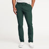 Sanfor Straight Fit Twill Cotton Trouser For Men-Dark Green-BE5729