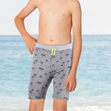 NEXT Fleece Short For Boys-Allover Printed-BE2797