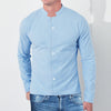 Sleeping Shirt For Men-Light Sky-BE5802