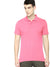 St Jhons's Bay Short Sleeve P.Q Polo Shirt For Men-Pink-BE14615