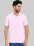 St Jhons's Bay Short Sleeve P.Q Polo Shirt For Men-Tea Pink-BE14620