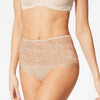Stylish Lace Bikini For Ladies-Skin-BE8737