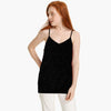 Stylish Stars Cami Top For Ladies-Black-BE8774