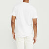 brandsego - Superior Crew Neck Single Jersey Tee Shirt For Men-White-BE8332