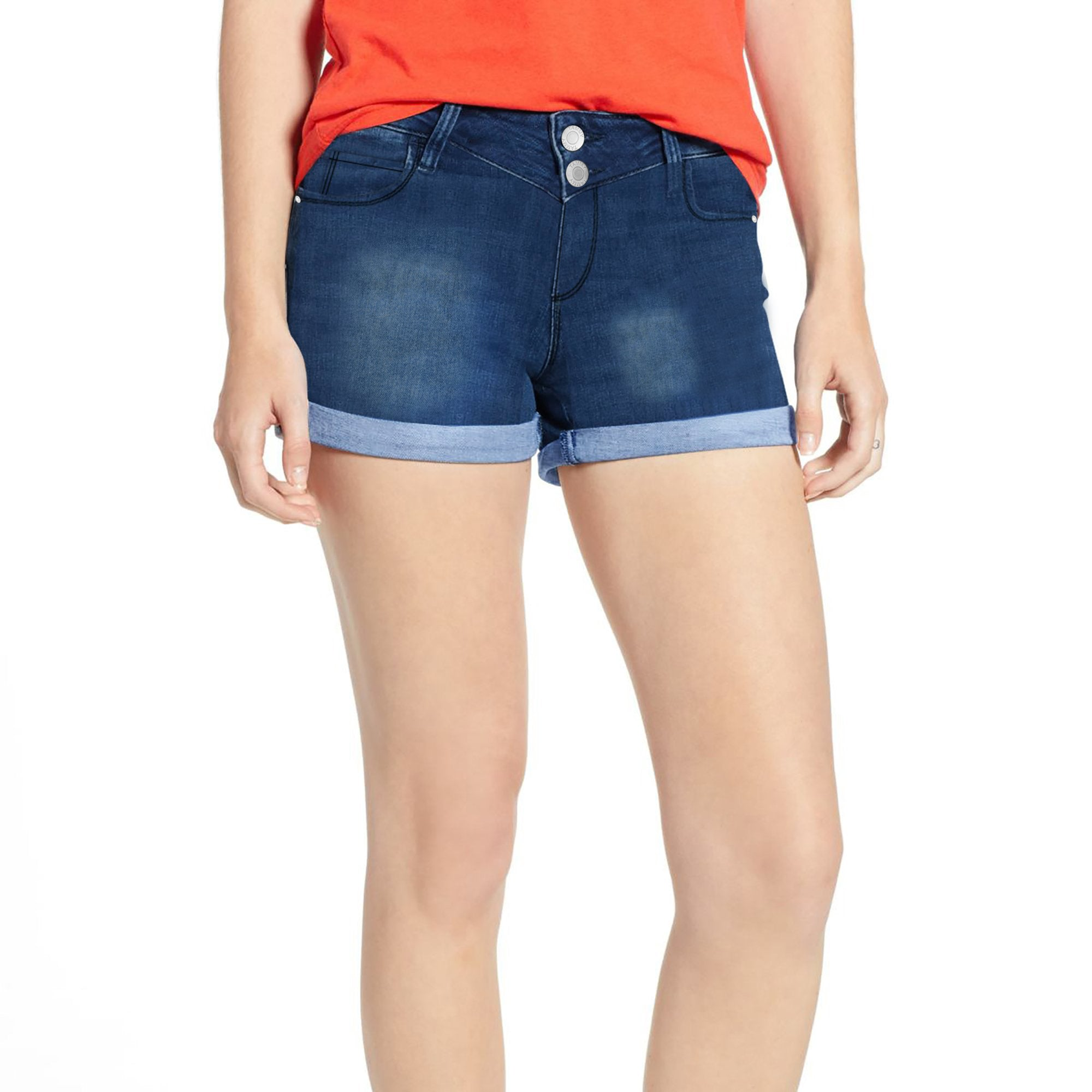 Tammy Girl Denim Short For Ladies-Dirty Wash -SP111