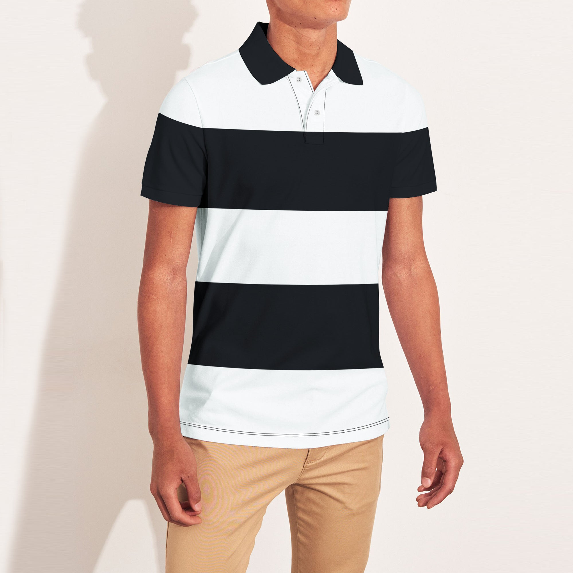 brandsego - The Modern Short Sleeve P.Q Polo Shirt For Men-BE9004