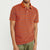 brandsego - The Modern Short Sleeve P.Q Polo Shirt For Men-Orange & Sky Stripe-BE8400