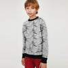 brandsego - Tommy Hilfiger Crew Neck Single Jersey Sweatshirt For Kids-Allover Print-BE7859