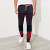 Tommy Hilfiger Single Jersey Slim Fit Trouser For Men-Charcoal Melange with Panels-BE5698