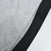 Uneek Single Jersey Jogger Trouser For Men-Grey & Charcoal Melange-BE10153