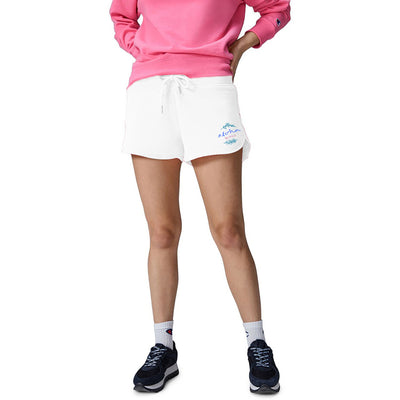 Unit Terry Fleece Short For Ladies-White-BE7094