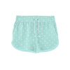 Unit Terry Fleece Short For Ladies-Zink with Allover Print-BE7080