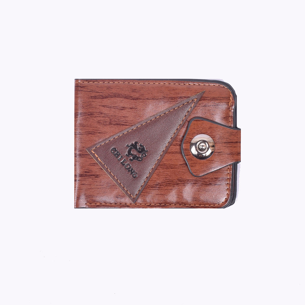 "Men ""Chilong"" Genuine Leather Wallet-BE281"