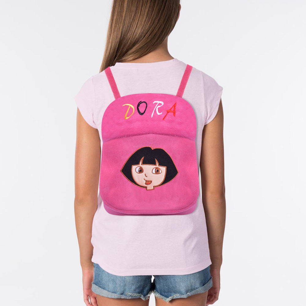 Velvet School Bag For Kids-Dora-BE11596