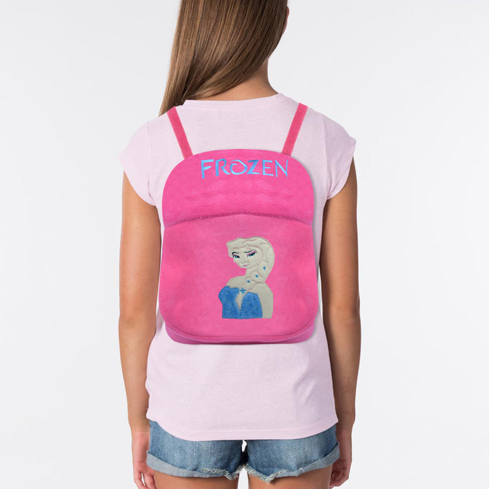 Velvet School Bag For Kids-Frozen-BE11597