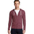 NEXT Thermal Zipper Hoodie For Men-Light Maroon-BE3755