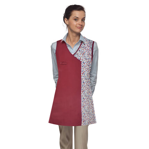 Copy of Stylish Kitchen Apron-Burgundy-SKA-02