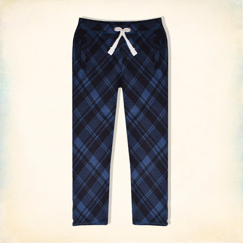 "Men's "" Tom Tailor "" Stylish Blue Melange & Black Chek Printed Ragular Fit Strech Trouser-TTT01"
