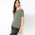 brandsego - Zara Cut Label Half Sleeve Stylish Viscose Tee Shirt For Women-BE8506