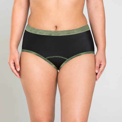 Zara Essential Lace Underwear For Ladies-Black-BE5687