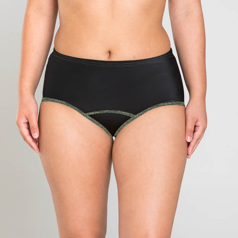 Zara Essential Underwear For Ladies-Black-BE5689