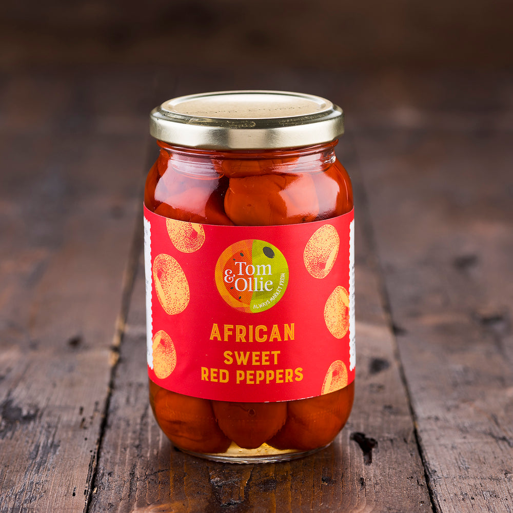 African Sweet Red Peppers