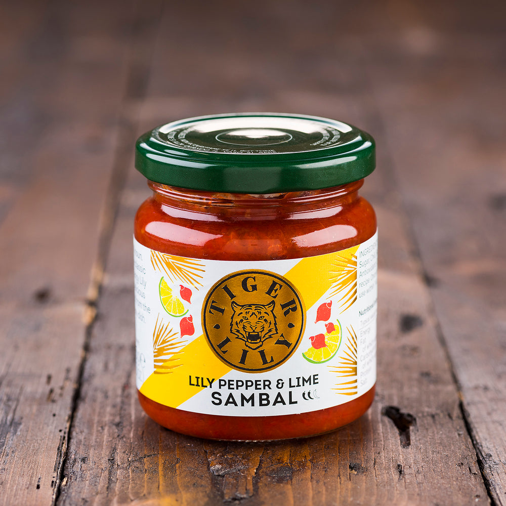 Lily Pepper & Lime Sambal by Tiger Lily
