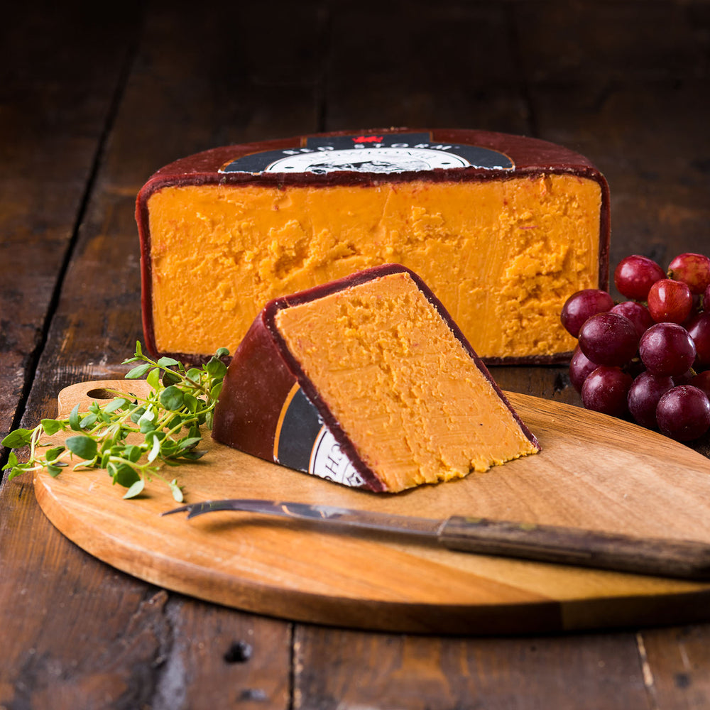 'Red Storm' Vintage Red Leicester by Snowdonia Cheese Company