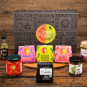 Load image into Gallery viewer, Tom & Ollie Spicy Hamper