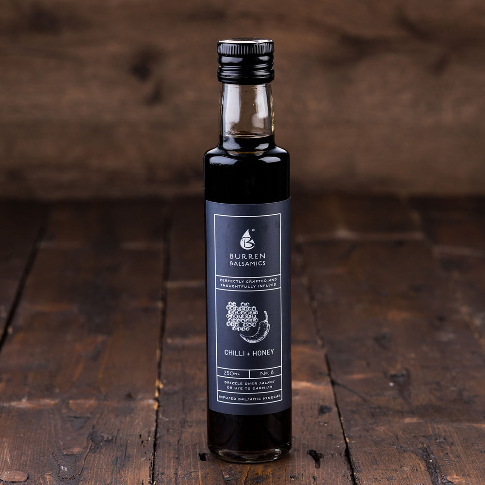 Balsamic Vinegar with Chilli & Wild Honey by Burren Balsamics