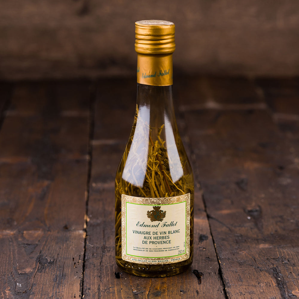 White Wine Vinegar with Herb de Provence by Edmond Fallot