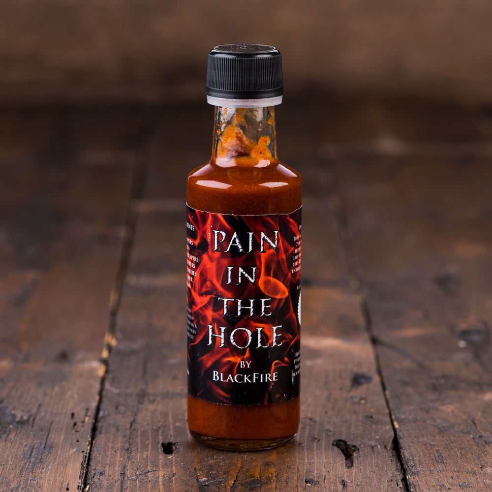 Pain In The Hole Hot Sauce by Blackfire