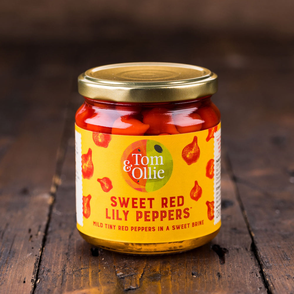 Sweet Red Lily Peppers (Jar)