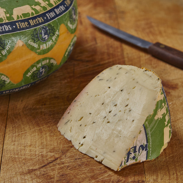 Herb And Garlic Gouda