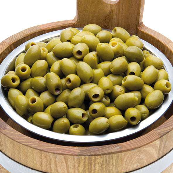 Pitted Green Mammoth Olives