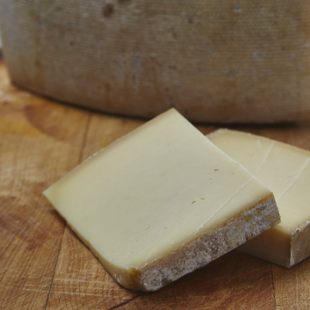 One Year Old Unpasteurised French Farmhouse Cheese.