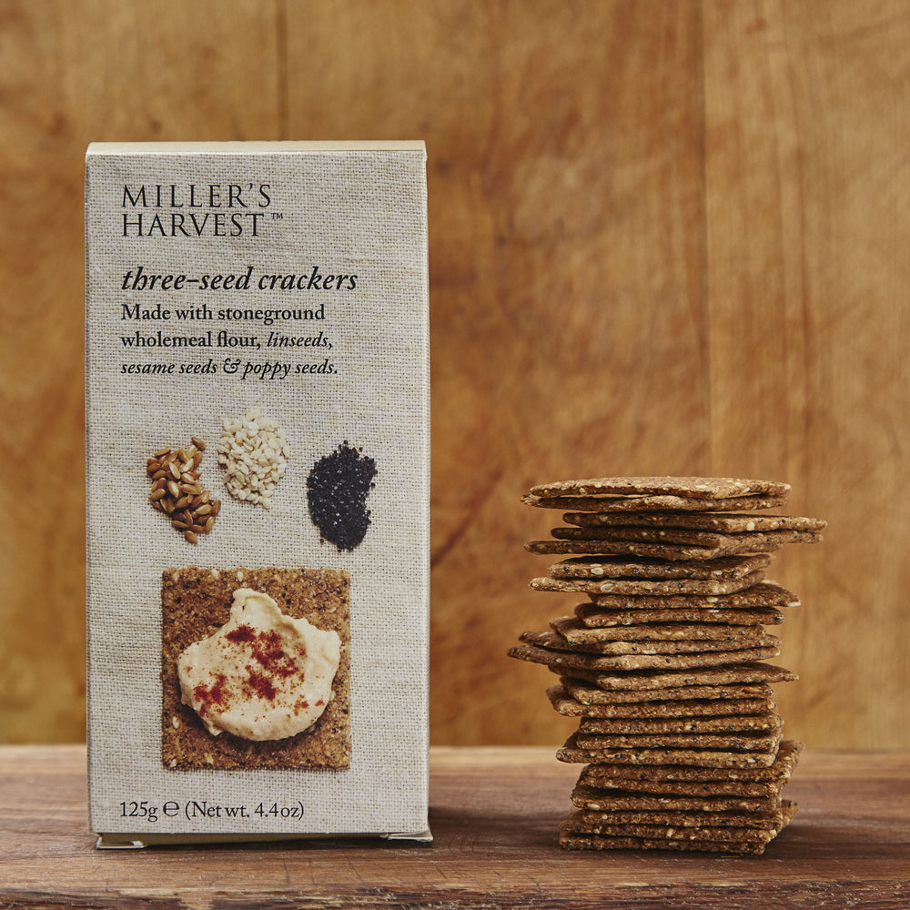 Three Seed Crackers by Miller's Harvest