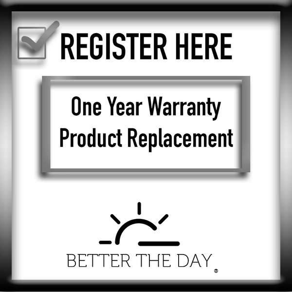 Better The Day Warranty