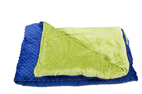Kids Weighted Blanket for Autism, Anxiety & Insomnia - A Soothing Blanket That Hugs You Back