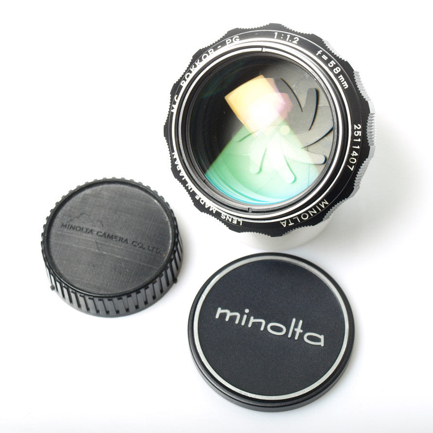 Minolta MC Rokkor-PG 58mm f/1.2