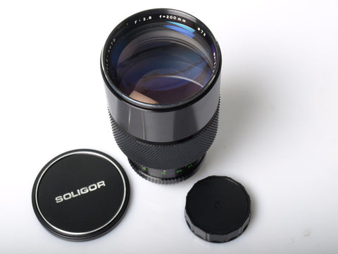 Soligor 200mm f2.8 for Minolta MD