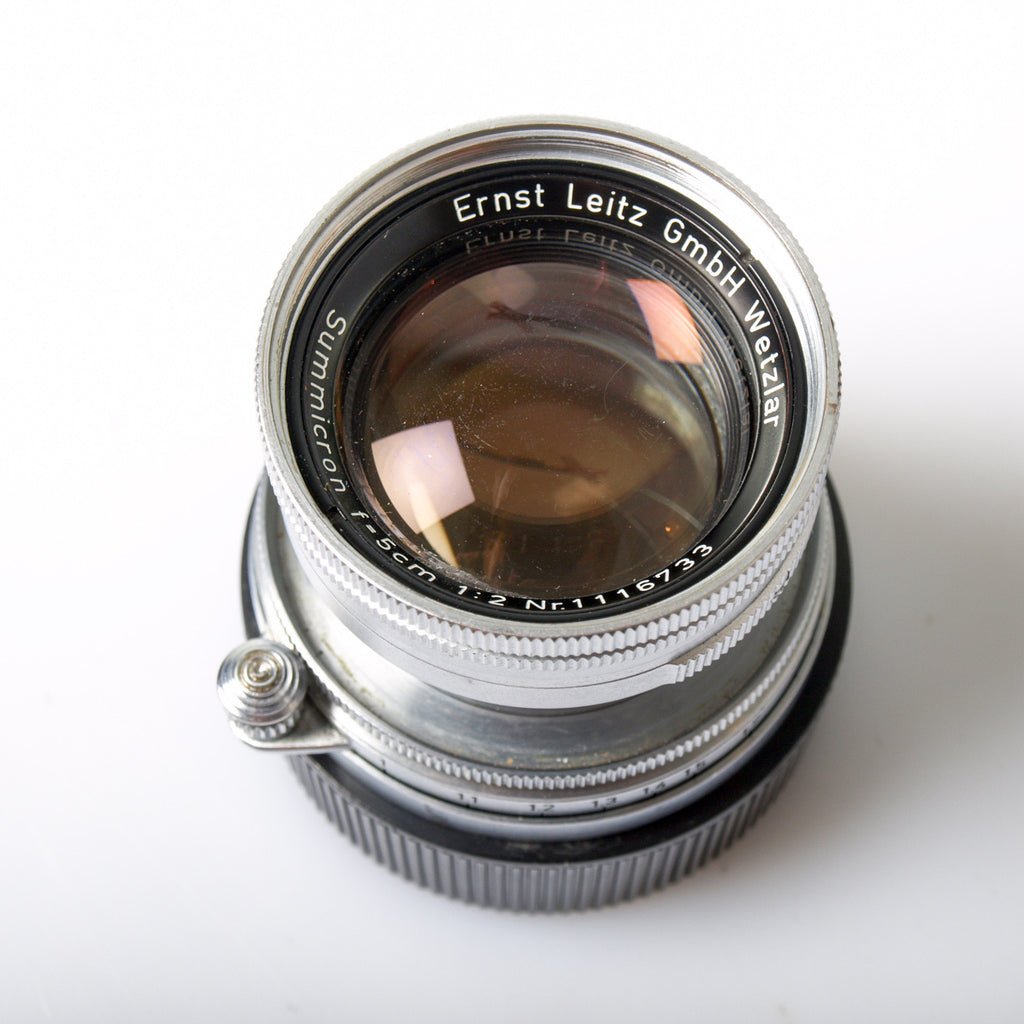 Leica Summicron 50mm f/2 Collapsible LTM