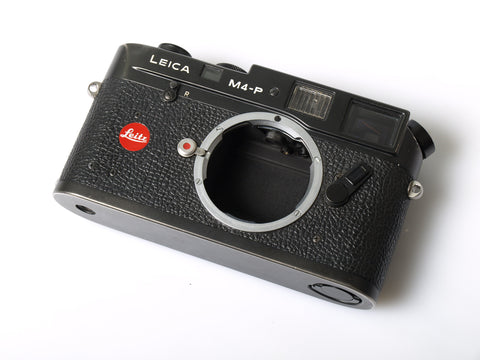 Leica M4-P black chrome body only