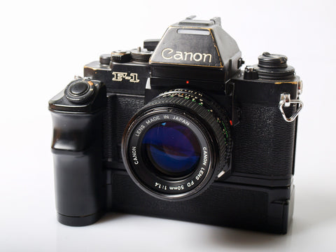 Canon New F-1 AE set