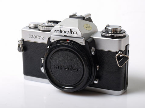 Minolta XD7 Chrome Body