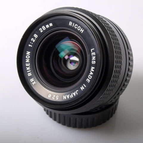 Ricoh XR-Rikenon 28mm f/2.8 for Pentax K mount