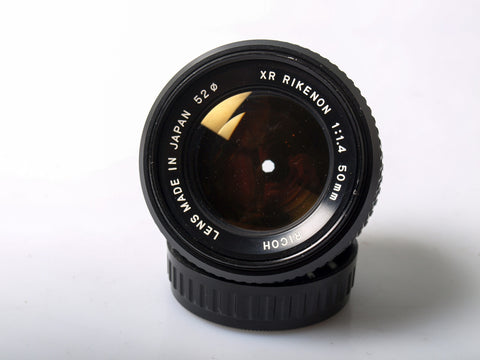 Ricoh XR-Rikenon 50mm f/1.4 for Pentax K mount