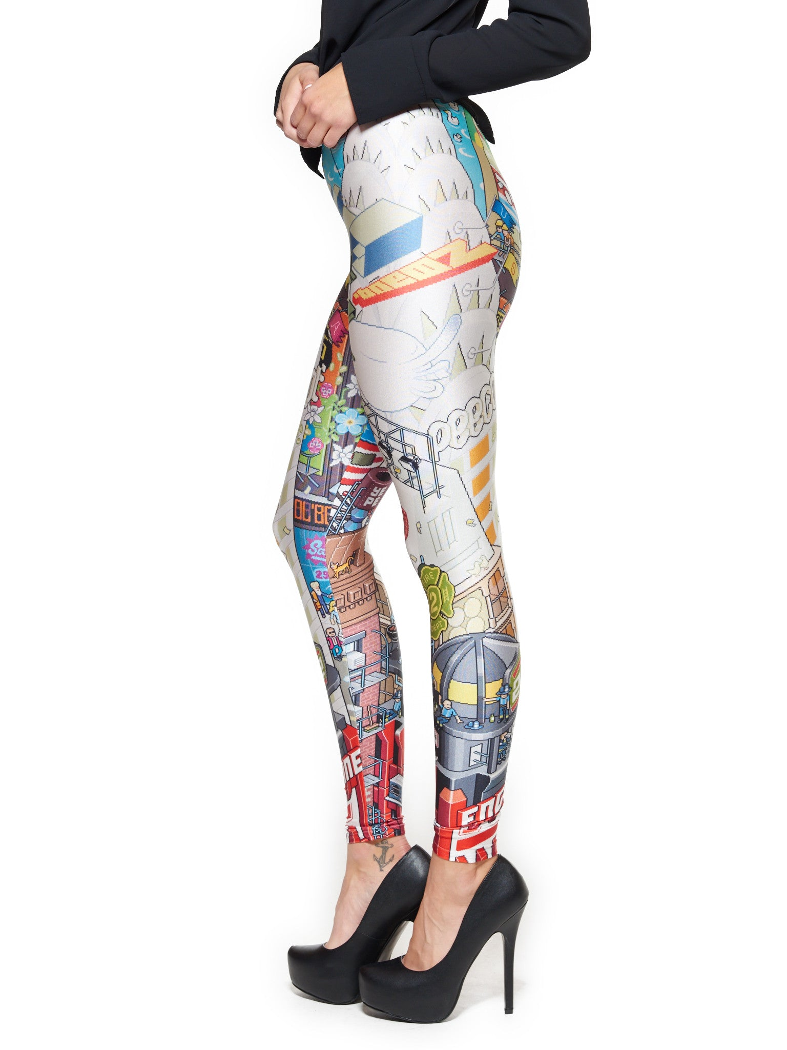 NYC Queen West Leggings - Nuvango Gallery & Goods - 2