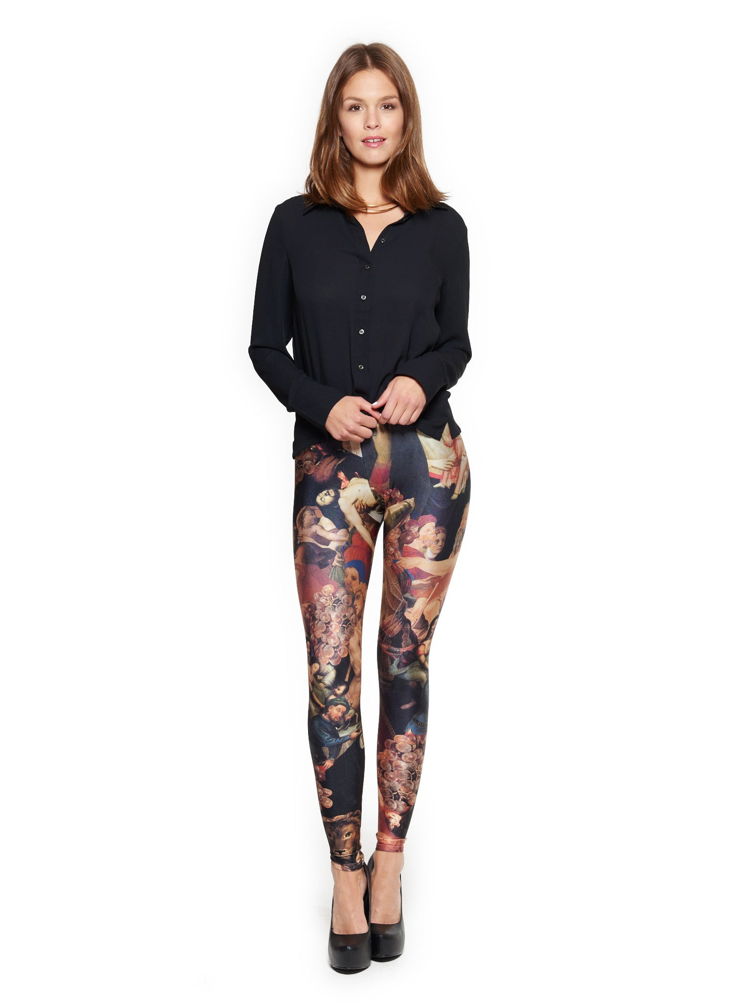 Vatican Queen West Leggings - Nuvango Gallery & Goods - 1
