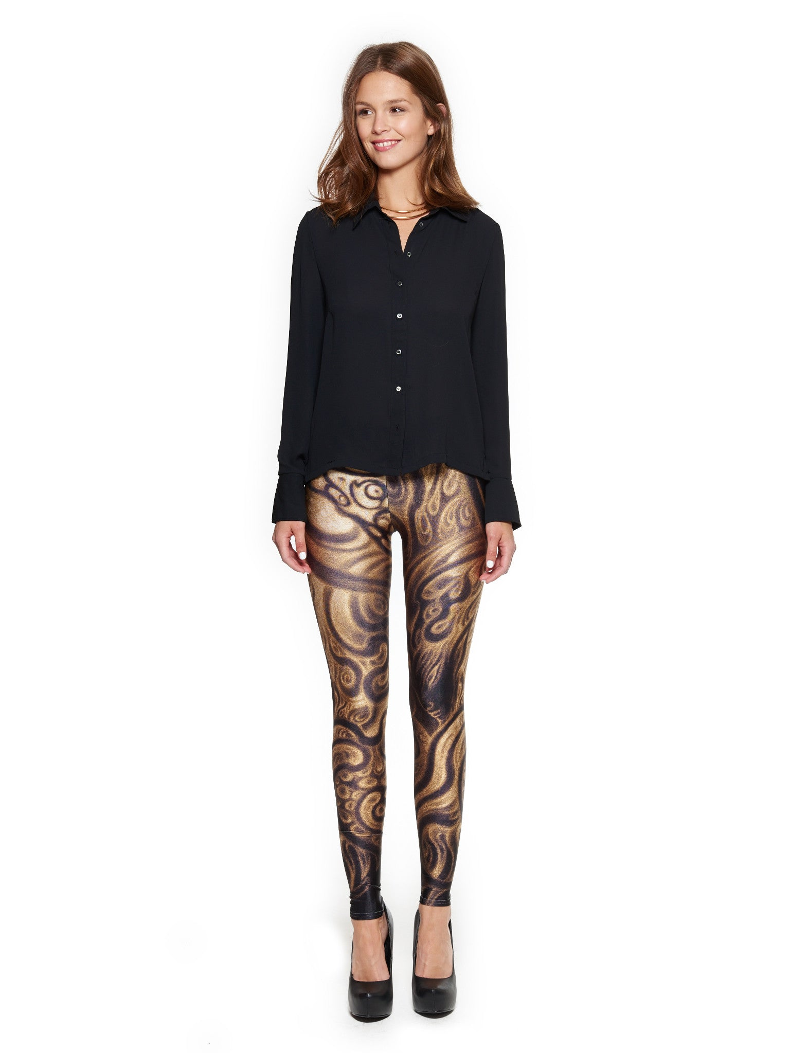The Invisible Guidance Queen West Leggings - Nuvango Gallery & Goods - 1